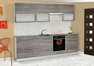 LOLA mat - meble kuchenne pod zabudowę różne kolory 2,6m lub na wymiar 6