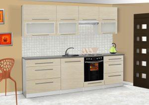 LOLA mat - meble kuchenne pod zabudowę różne kolory 2,6m lub na wymiar 5