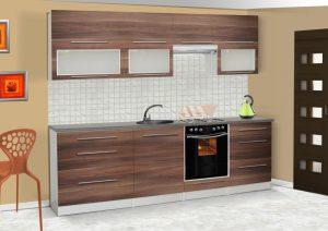 LOLA mat - meble kuchenne pod zabudowę różne kolory 2,6m lub na wymiar 4