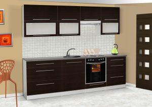 LOLA mat - meble kuchenne pod zabudowę różne kolory 2,6m lub na wymiar 3