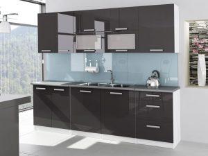 TESSA - meble kuchenne lakierowane różne kolory 2,6m lub na wymiar 7