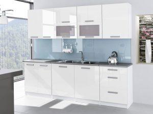 TESSA - meble kuchenne lakierowane różne kolory 2,6m lub na wymiar 6
