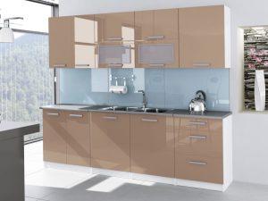 TESSA - meble kuchenne lakierowane różne kolory 2,6m lub na wymiar 5