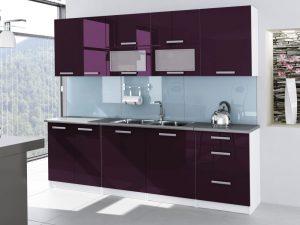TESSA - meble kuchenne lakierowane różne kolory 2,6m lub na wymiar 4