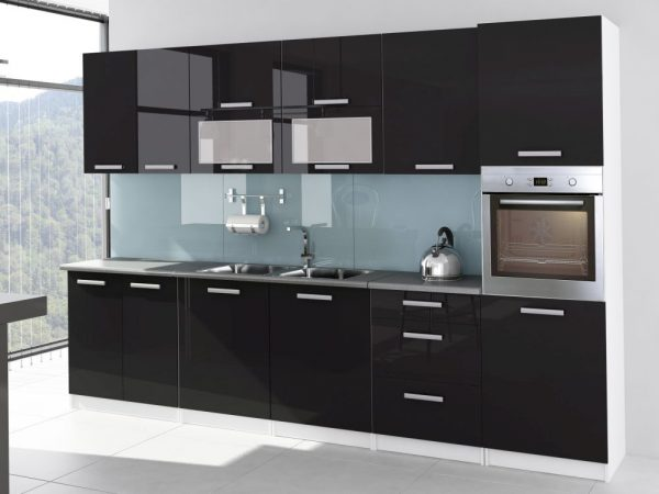 TESSA - meble kuchenne lakierowane różne kolory 3,2m lub na wymiar 1