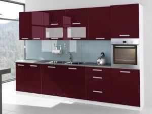 TESSA - meble kuchenne lakierowane różne kolory 3,2m lub na wymiar 8