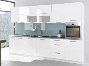 TESSA - meble kuchenne lakierowane różne kolory 3,2m lub na wymiar 6