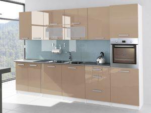 TESSA - meble kuchenne lakierowane różne kolory 3,2m lub na wymiar 5