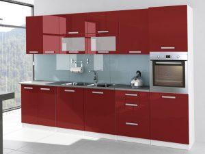 TESSA - meble kuchenne lakierowane różne kolory 3,2m lub na wymiar 3