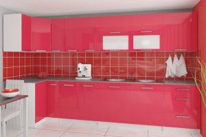TESSA - meble kuchenne narożne połysk różne kolory 3,5m lub na wymiar 7
