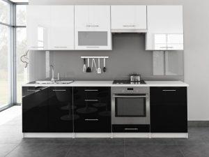 TINA - meble kuchenne pod zabudowę różne kolory połysk 2,6m lub na wymiar 8