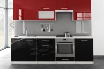TINA - meble kuchenne pod zabudowę różne kolory połysk 2,6m lub na wymiar 9