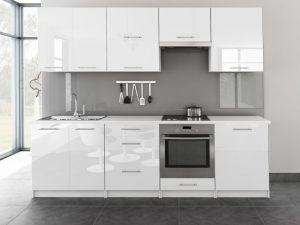 TINA - meble kuchenne pod zabudowę różne kolory połysk 2,6m lub na wymiar 5