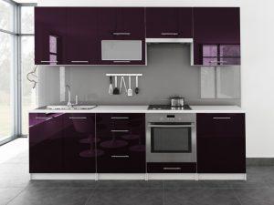 TINA - meble kuchenne pod zabudowę różne kolory połysk 2,6m lub na wymiar 3