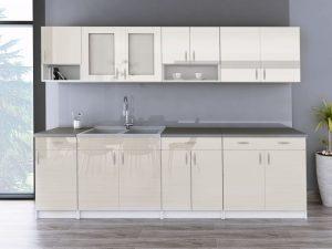 WALENCJA - meble kuchenne na wymiar różne kolory połysk 2,6m lub na wymiar 3