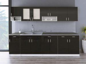 WALENCJA - meble kuchenne na wymiar różne kolory połysk 2,6m lub na wymiar 9