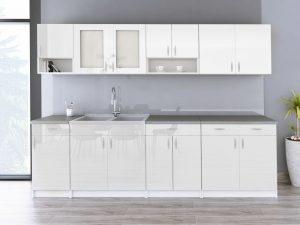 WALENCJA - meble kuchenne na wymiar różne kolory połysk 2,6m lub na wymiar 10