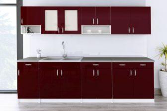 Meble kuchenne WALENCJA połysk różne kolory 2,6m lub na wymiar 6