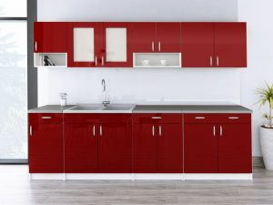 WALENCJA - meble kuchenne na wymiar różne kolory połysk 2,6m lub na wymiar 5