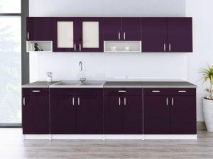 WALENCJA - meble kuchenne na wymiar różne kolory połysk 2,6m lub na wymiar 4