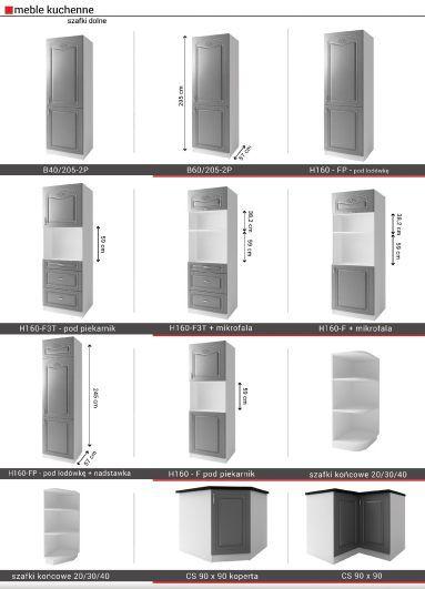 AGATHA - meble kuchenne klasyczne 2,6m lub na wymiar 11