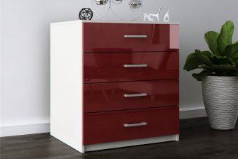 LUKSOR 4 - komoda 4 szuflady 9