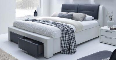 CASSANDRA S 160 - łóżko tapicerowane z szufladami 1