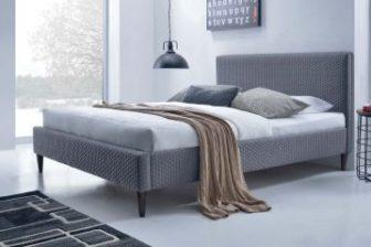 FLEXY 160 - łóżko tapicerowane szare 5