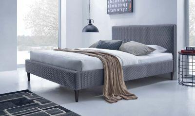 FLEXY 160 - łóżko tapicerowane szare 1