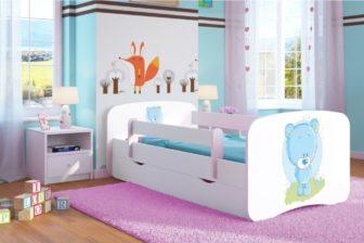 Łóżko KIDS wzory  80x180 9