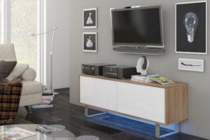 MODERN 1 140 - szafka RTV stolik RTV różne kolory 6