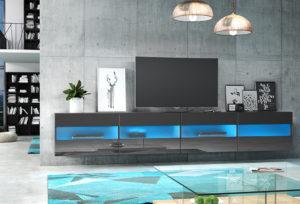 RISA 200 - szafka RTV wisząca stolik RTV różne kolory 2