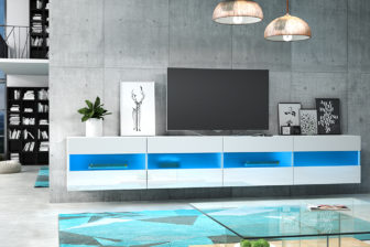 RISA DOUBLE 200 - szafka RTV wisząca stolik RTV różne kolory 30