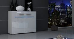 BREMA LED - nowoczesna komoda różne kolory połysk 2