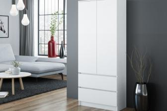 SARKO 90 - biała szafa z szufladami 21