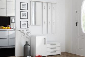 SARA - biała garderoba do przedpokoju 9