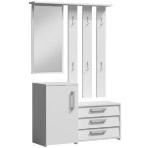 SARA - biała garderoba do przedpokoju 2