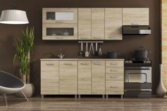 ANJA - meble kuchenne do małej kuchni 2,4m 12