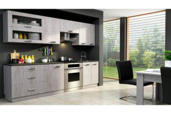 KATRINA - nowoczesne meble kuchenne różne kolory 2,4m 50