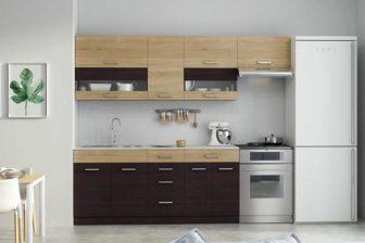 SCARLET - meble kuchenne do małej kuchni różne kolory 2,4m 14