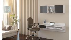 Toaletka - biurko wiszące  CARLO 6
