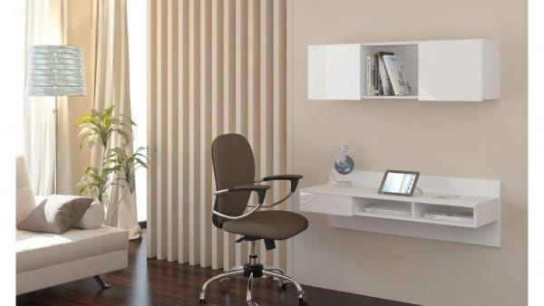 Toaletka - biurko wiszące  CARLO 1