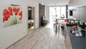 Salon z aneksem kuchennym 20m2