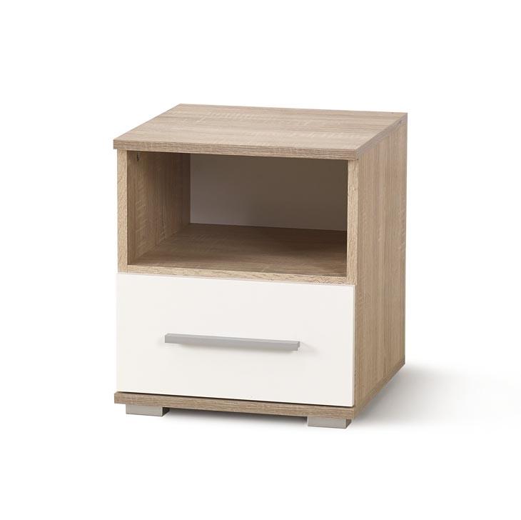 LIMA - szafka nocna z szufladą - 3 KOLORY 4
