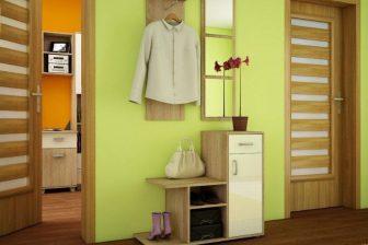 MALMO - garderoba z lustrem różne kolory 4