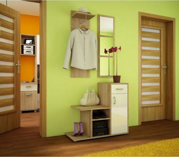 MALMO - garderoba z lustrem różne kolory 1