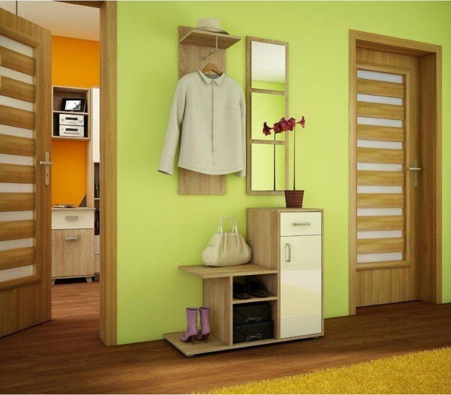 MALMO - garderoba z lustrem różne kolory 2