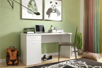 BEST - biurko białe młodzieżowe 9