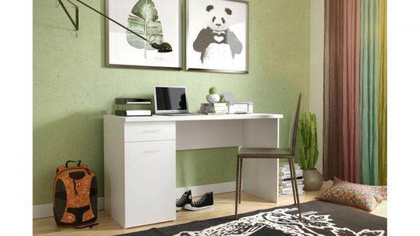 BEST - biurko białe młodzieżowe 1
