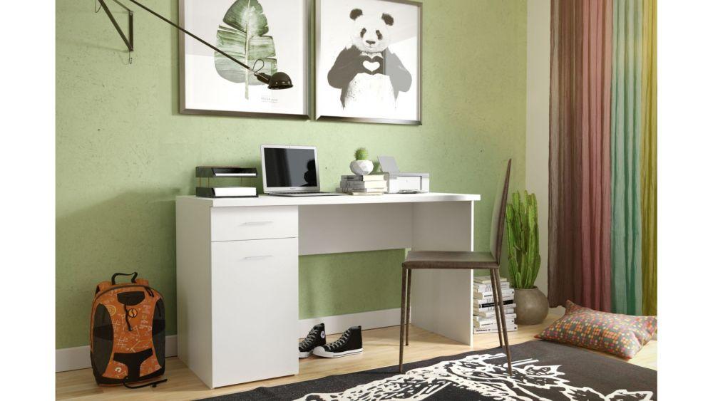 BEST - biurko białe młodzieżowe 2